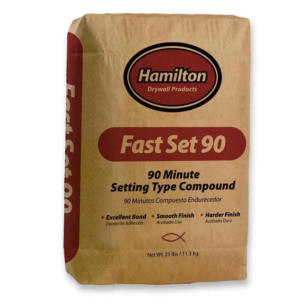 Setting type compounds hamilton for Gold bond joint compound